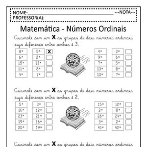 Atividades de Matemática para Baixar em PDF
