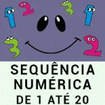 Sequência Numérica de 1 até 20 - a partir de 4 anos
