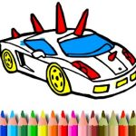 BTS GTA Cars Coloring