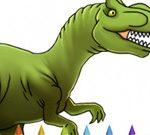 Livro de Colorir Dinossauros Parte I